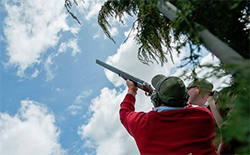 clay shooting at Matahui Luxury Lodge