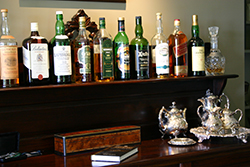 A wide selection of beverages are included in the price of your stay
